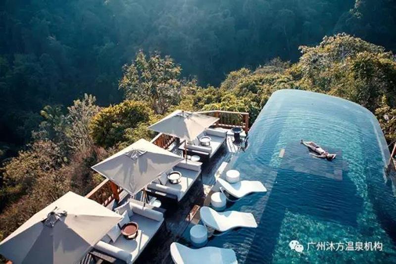 温泉度假村设计,温泉景观设计