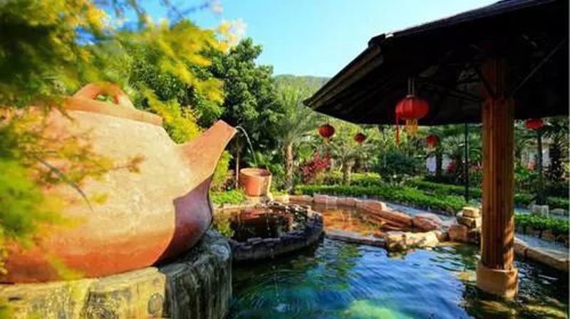 温泉泡池设计,温泉景观设计