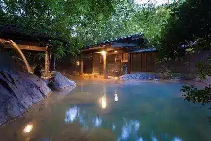 温泉庭院设计,温泉景观设计