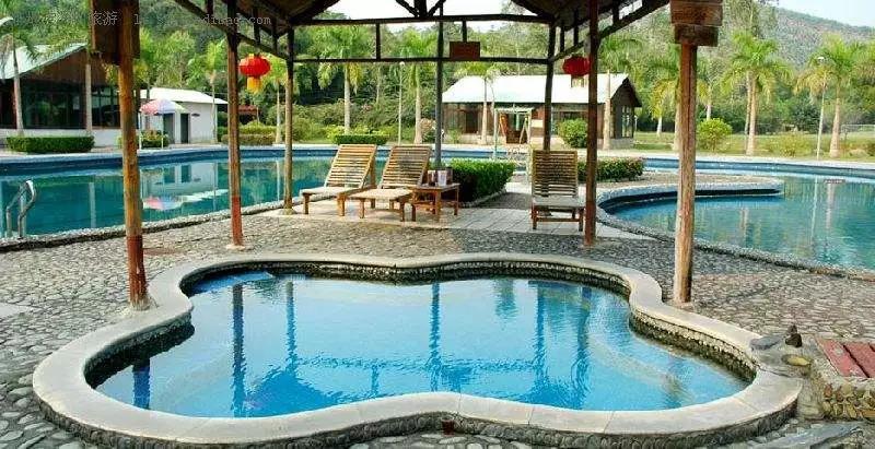 温泉泡池设计,温泉泳池设计